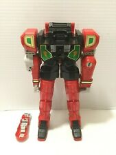 Power Rangers Red Dragon Zord Body For Parts or Repair