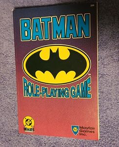 Batman Role-Playing Game DC Heroes Mayfair Games