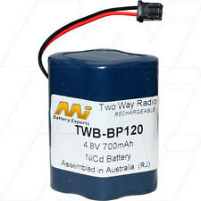 4.8V 700mAh Replacement Battery Compatible with Uniden BP120