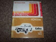 1977 Toyota Celica Factory Owner Owner's User Guide Manual RARE ORIGINAL