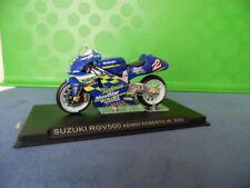 MODELLINO MOTOCICLETTA METALLO-1/24-SUZUKI RGV 500---KENNY ROBERTS JR.DEL 2000