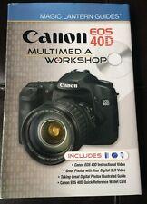 Canon E0S 40D Multimedia Workshop Book By Lark Books