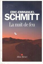 ERIC-EMMANUEL SCHMITT LA NUIT DE FEU + PARIS POSTER GUIDE