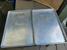 More details for no256  aluminium  baking tray 660mm x 455mm x 30mm high