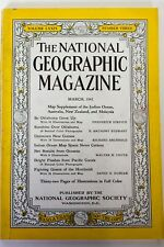 National Geographic Magazine March 1941 Oklahoma New Guinea Humboldt