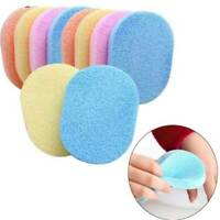 Exfoliator Cleansing Sponge Body Facial Cleaner Face Wash Pad Compress Puff UK