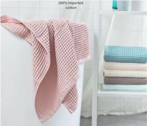 Soft Honeycomb Bath Towel Waffle Cotton 50*120 (1-5 Pcs.)