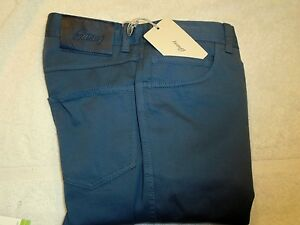 Brioni Stretch Cotton Blend 5 Pocket Pants NWT $495 30 x 34 Made in Italy Slate