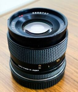Contax Zeiss 85mm F2.8 AEJ with Canon EF Leitax Mount