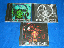 LOT 3 CD INTO A THRASH black HARCORE death CIRCLE vacarme MORG coitus ANOREXIA