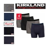 SALE Kirkland Signature Men's Boxer Briefs Underwear 4 Pack SIZE & COLOR C42
