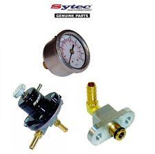 CARBURANTE mSv regolatore di pressione carburante + MANOMETRO KIT SUBARU IMPREZA WRX / STI (92-00)