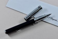 NEW ST Dupont D-Initial Chrome Finish Goldsmith Rollerball Pen ST262201