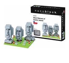Nanoblock Micro-sized Building Block Set Moai Statues Easter Island Chile