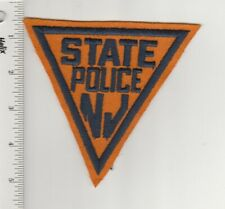 US Police Patch New Jersey State Police Old One