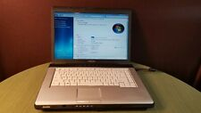 "Toshiba Satellite Amd Turion 1.9Ghz Win 7 147Gb Hdd 15.4"" Screen"