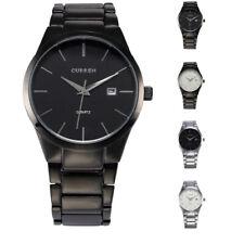 Reloj de Pulsera estilo militar Curren Para Hombres de Moda de Acero Inoxidable Analógico Fecha Cuarzo Deportivo