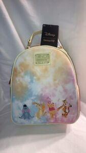 Loungefly Disney Winnie The Pooh Tie Dye Backpack BRAND NEW RELEASE