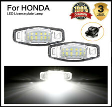 2x For Acura TL TSX MDX Honda Civic Accord 18 LED License Plate Light Direct HOT