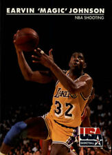 Magic Johnson #35 Skybox USA 1992 NBA Basketball Card