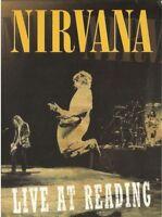 NIRVANA - LIVE AT READING DVD ~ KURT COBAIN ~ DAVE GROHL *NEW*