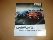 CATALOGUE BMW M6 de 2012