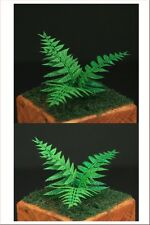 1/35 Scale Greenline - Ferns - laser cut paper plant set 2