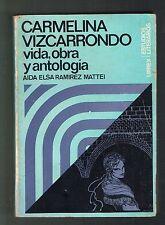 Aida Elsa Ramirez Carmelina Vizcarrondo Vida Obra Antologia Puerto Rico 1972 1st