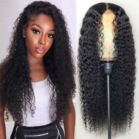 13x6  Lace Front Wigs Deep Wave Virgin Brazilian Full Lace Human Hair Wigs Curly