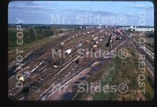 Original Slide EL Erie Lackawanna Marion OH Yard In 1975