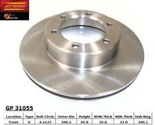 Disc Brake Rotor-4WD Front Best Brake GP31055