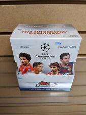 2019-20 Topps Finest UEFA Champions League Soccer Hobby Box