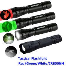 IR 850NM /Green/ Red /White LED Flashlight Hunting Hog Coyote Predator Fox Torch