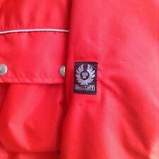 Belstaff giacca moto rossa jacket moto taglia 40