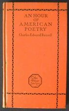 An Hour of American Poetry Charles Edward Russell 1st Hbk inscribed to Giltinan