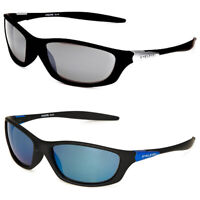 Eyelevel Mens Terminator Sunglasses - UV400 UVA UVB Protection Anti Glare Lens