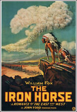 "1924 the Iron Horse John Ford Movie Poster  Replica 13x19"" Photo Print"