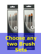Mont Marte Gallery Series Acrylic Brush Set Twin Pack