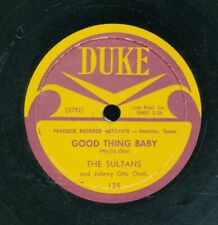 78tk-R&B vocal group-DUKE 125-The Sultans  (first pressing)