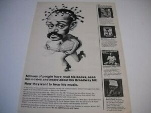 MELVIN VAN PEEBLES now they want to hear his music... 1971 Promo Poster Ad