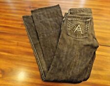 Seven 7 For All Mankind Dark Wash Bootcut Women Jeans Size 28 A Pocket