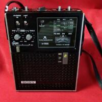 SONY Sky Sensor ICF-5500 Shortwave 3 Band Receiver FM MW SW USED Working FedEx