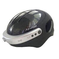 Airwheel C5 Smart Helmet HD Camera Wifi Bluetooth Headphone Black XL Carbon Gray