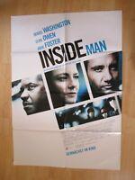 Filmplakat - Inside Man ( Jodie Foster , Denzel Washington , Clive Owen )