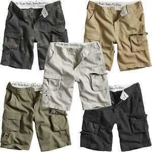 Surplus Trooper Shorts Mens Military Army Combat Cargo 100% Lightweight Cotton