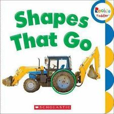 Shapes That Go (Board Book)