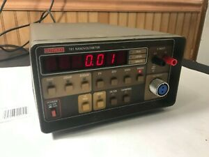Keithley 181 Nanovoltmeter with power cable Works