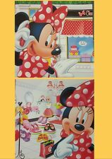 MINNIE MOUSE Shopping Wall Art Canvas Prints Set of 2 Girls Bedroom Home Decor
