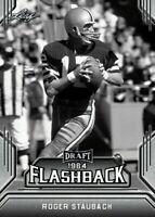 """ROGER STAUBACH 2019 LEAF DRAFT """"1964 FLASHBACK"""" ROOKIE CARD! DALLAS COWBOYS!"""