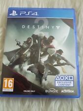 Ps4 destiny 2 game sony playstation 4 Exclusive content version Mint